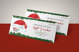 Christmas Gift Voucher V09