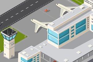 City airport terminal