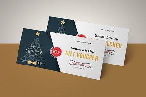 Christmas Gift Voucher V10