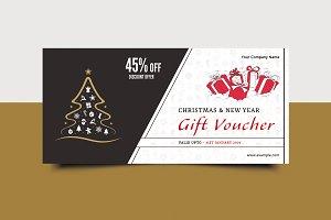 Christmas Gift Voucher V11