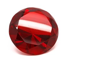 Red Ruby Crystal