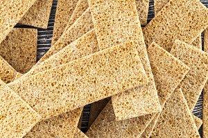 dry crispy bread