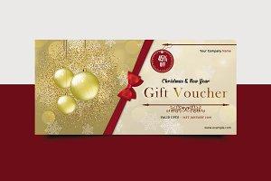 Christmas Gift Voucher V12