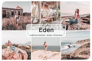 Eden Lightroom Presets