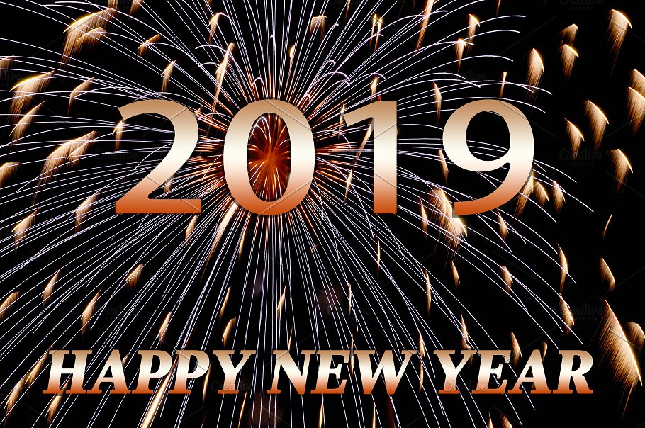 Image result for Images of Happy New 2019