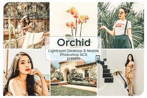 Orchid Lightroom Presets