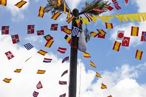 cucana greased pole in spain