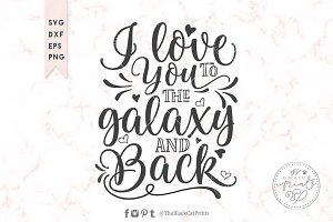 I love you to the Galaxy and back
