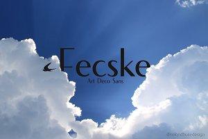 Fecske - Art Deco Sans