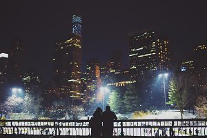 Central Park Ice skaters
