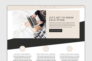 The Emilia - Divi Wordpress Theme