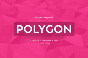 Polygon Colorful Backgrounds | v7