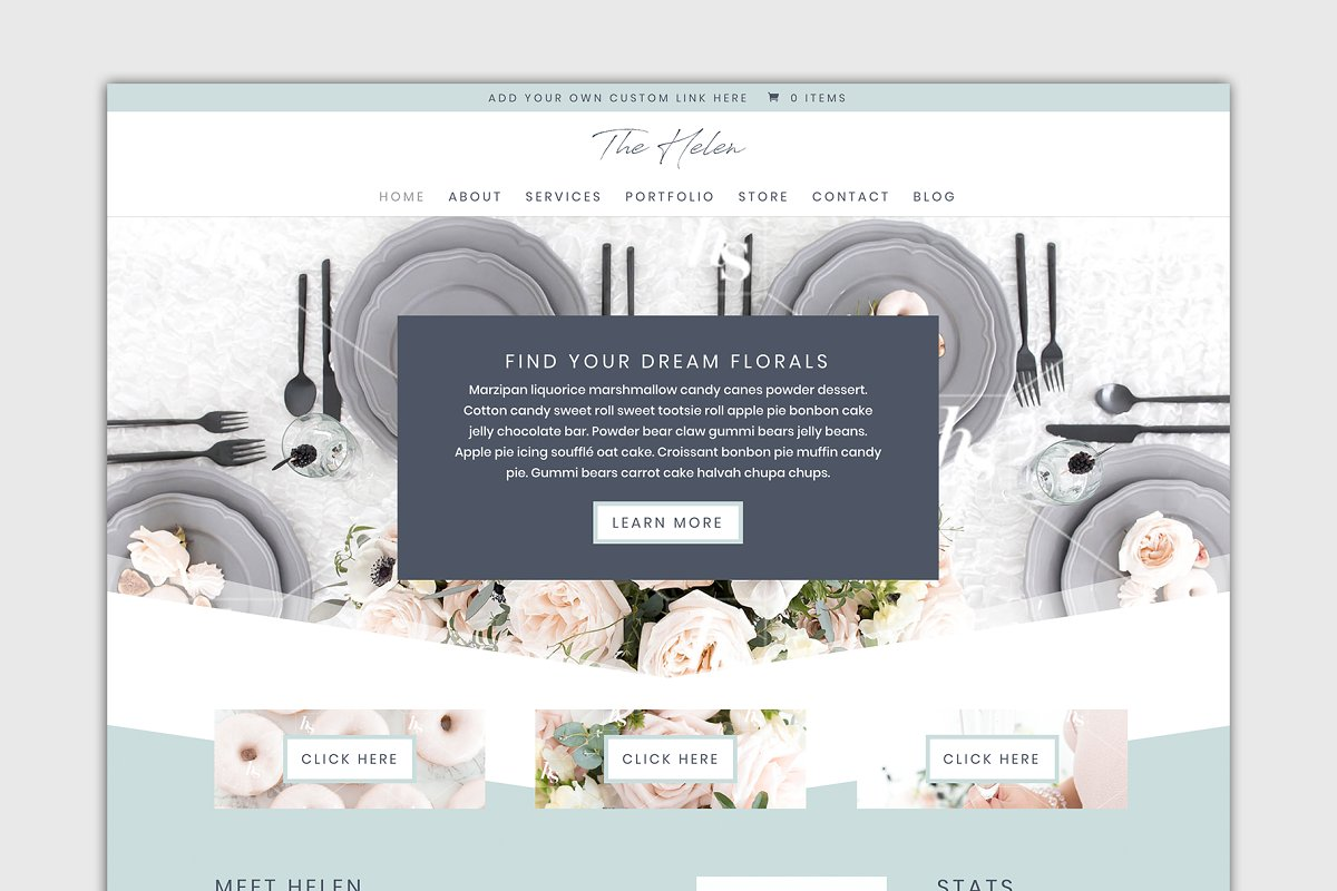 The Helen Divi Child Theme Wordpress Wordpress Business Themes