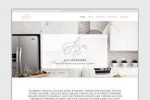The Ava - Divi Child Wordpress Theme