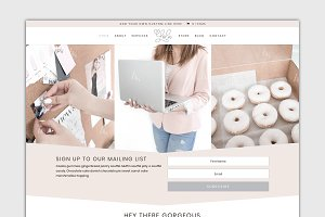 The Lola-Divi Child WordPress Theme