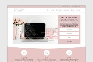 The Marigold - Divi Child Theme