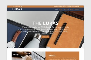 The Lukas-Divi Child Wordpress Theme
