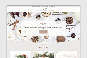 The Freya-Divi Child Wordpress Theme