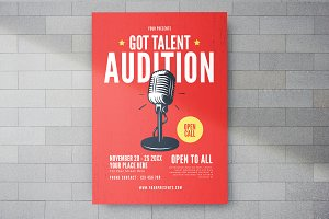 Got Talent Flyer