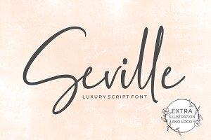 Seville Script Fonts