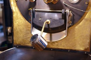 coffee roasting factory