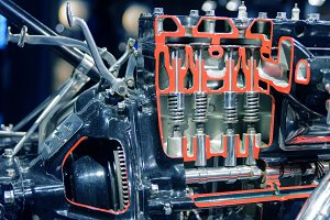 car engine cylinder