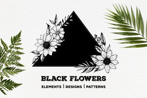 Black flowers. Part II