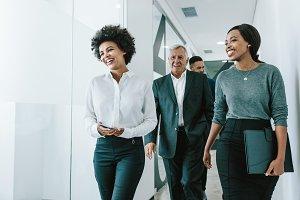Team of corporate professionals