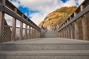 Sideling Hill Stairway