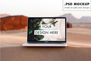 Sahara Sand Dunes Computer Mock Up