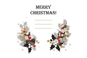 Christmas background. Christmas