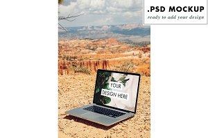 USA Canyon Macbook Pro Mock Up