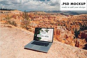Photoshop Laptop Mockup USA Mock Up
