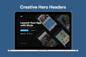App Launch Header banner