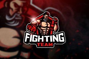 Fighting Team - Mascot & Esport Logo