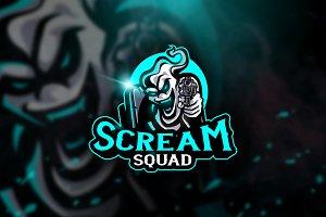 Scream Squad - Mascot & Esport Logo