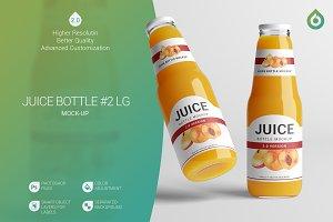 Juice Bottle LG Mock-Up #2 [V2.0]