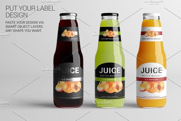 juice bottle lg mock up 2 v2 0 product mockups creative market