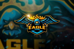 Eagle Team - Mascot & Esport Logo