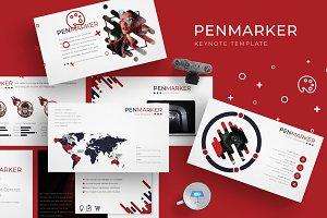 Penmarker - Keynote  Template