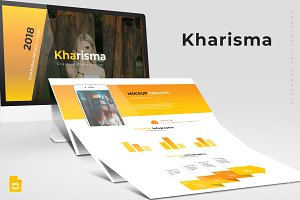 Kharisma - Google Slide Template