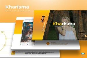 Kharisma - Keynote Template