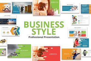 Business Style Powerpoint Template
