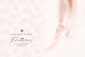 Romantic Leaves Patterns