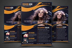 Fashion Agency Flyer