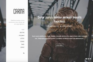 Carina - Elegant WordPress Theme