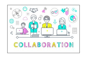 Collaboration Poster with Workers