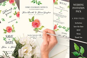 Wedding Invitation pack