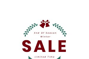 Christmas special 45% off vector
