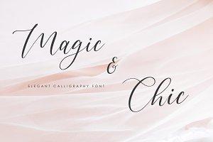 Magic & Chic Calligraphy Font